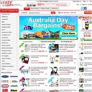 visit crazysales.com.au