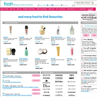 Fresh Fragrances and cosmetics