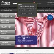 Visit TM Lewin UK
