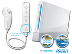 Visit NIN Wii Console White with Wii Sports and Wii Sports Resort