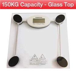 Visit Glass Top Bathroom Scale