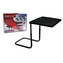Visit Ultimate Under-Mattress Bedside Tray Table Black Color