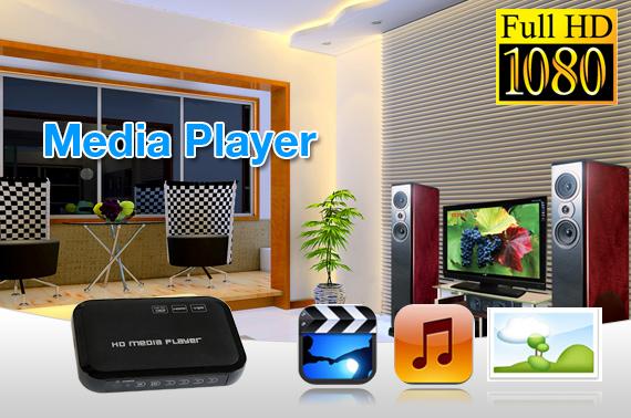 Visit 1080P Full HD Media Player