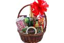 Visit Gift Basket – Wine, Chocolate and Nut Basket