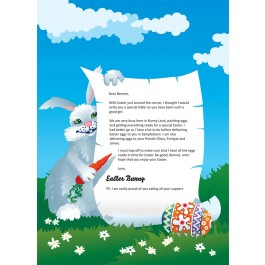 Visit Letter from the Easter Bunny