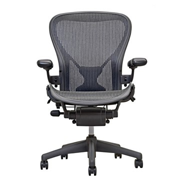 Visit Herman Miller Aeron Chair - Graphite Base