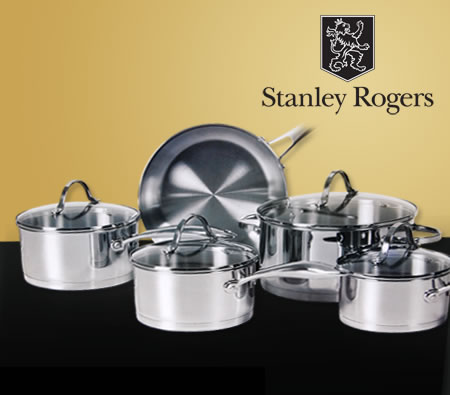 Stanley Rogers Contempo 5 Piece Stainless Steel Cookware