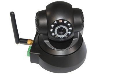Visit Indoor Dual Network Wireless/Wired IP Camera