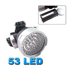 Visit 4 Mode 53 LED Headlamp Waterproof Camping Flashlight