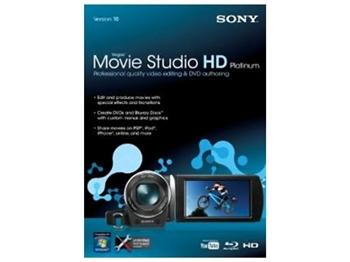 Visit Sony Vegas Movie Studio HD Platinum 10