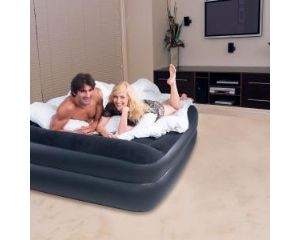 Visit Bestway Queen Size Premium Air Bed with Built in 220V Pump