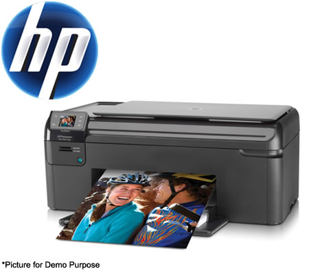 Visit HP Hewlett Packard Photosmart B109A (Q8433A) All-in-One Printer