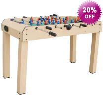 Visit X Large Table Football Fussball Foosball Game