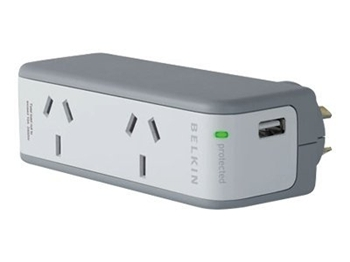 Visit Belkin BZ102055auTVL - Notebook Surge Protector with USB Charger