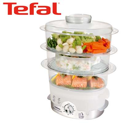 tefal steam cuisine ultra compact food steamer 22 08 2011. Black Bedroom Furniture Sets. Home Design Ideas