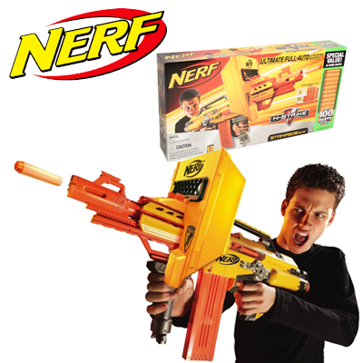 Nerf N Strike Stampede Ecs Dart Gun With 100 Darts Oo