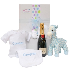 Visit Welcome Home Blue Baby Gift Hamper