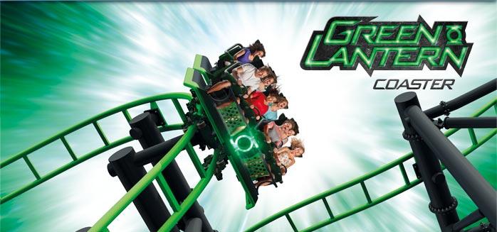 Green Lantern Coaster Coming To Warner Bros Movie World This