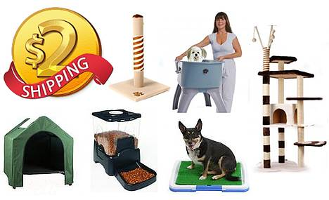 $2 Shipping on ALL Pet Accessories Site Wide