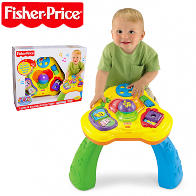 Visit Fisher-Price Lights & Sounds Activity Table