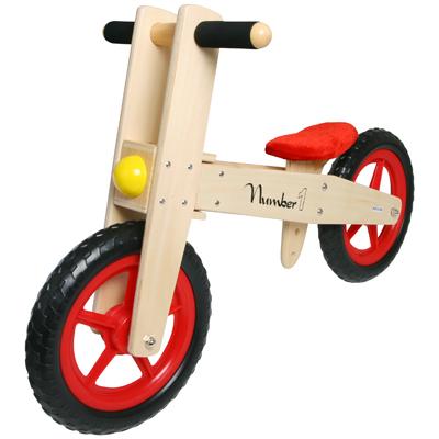 Visit Children's Wooden Balance Bike - Number 1