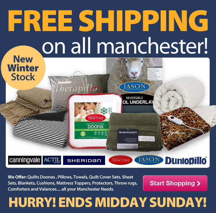 DealsDirect coupons: Free Shipping on ALL Manchester