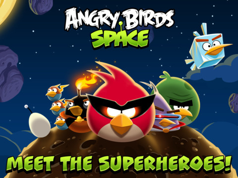 Apple iTunes coupons: Angry Birds Space HD