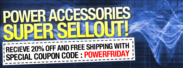 eStore coupons: 20% off selected power accessories