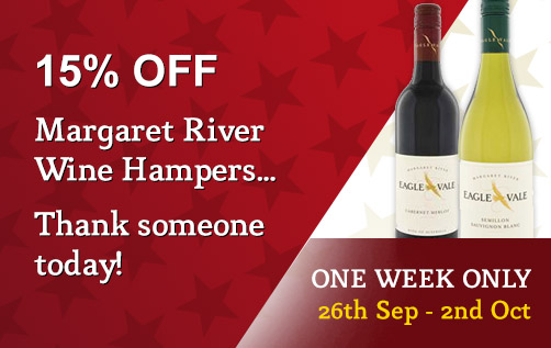 First Class Hampers coupons: 15% off Margaret River wine