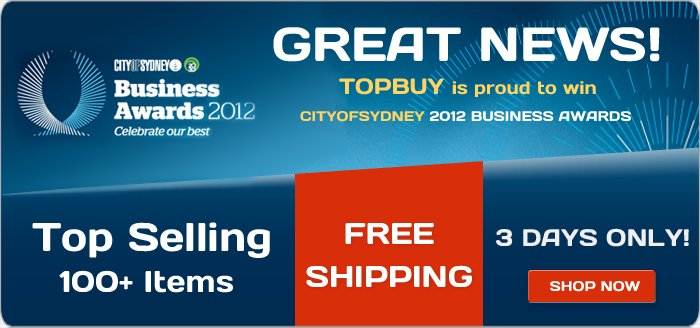 TopBuy coupons: Free Shipping Top Selling 100