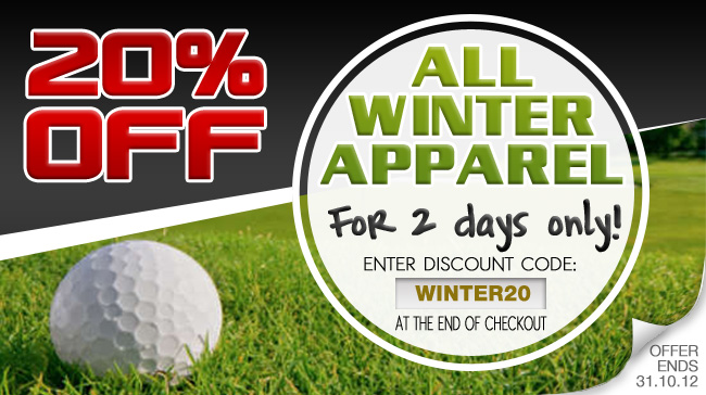 Lind Golf coupons: 20% Off All Winter Apparel