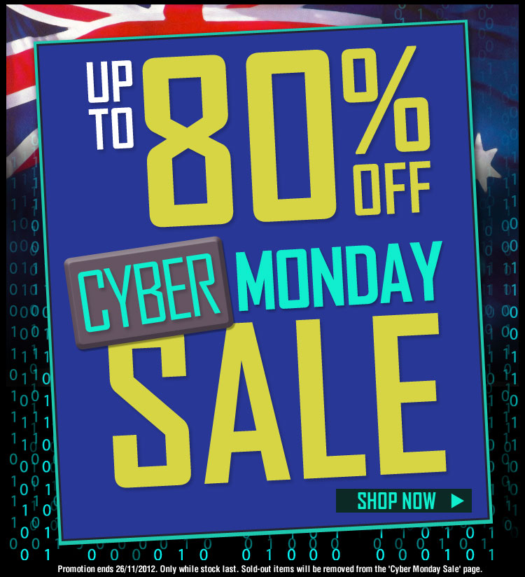 Crazy Sales coupons: Cyber Monday Crazy Sales