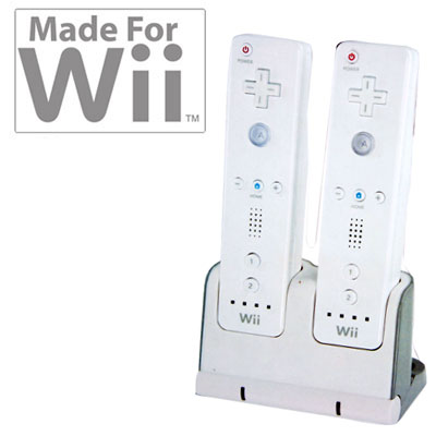 Visit Futuretronics Dual Power Dock for Nintendo Wii
