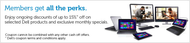 Dell AU coupons: 15% off on electronics, software & accessories