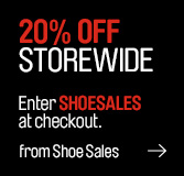 Westfield coupons: 20% off shoesales