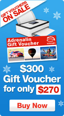 Adrenalin coupons: $300 Gift Voucher for $270