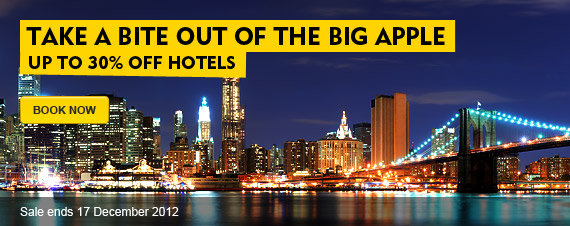 Expedia coupons: 30% off hotels