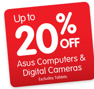 Dick Smith coupons: Asus Computers & Digital Cameras