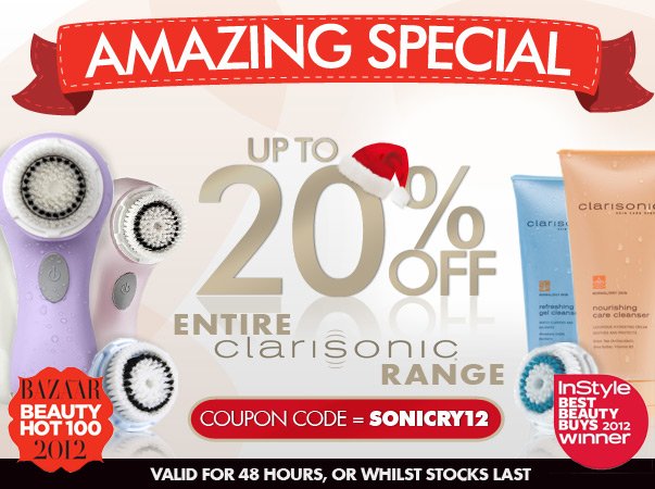 RY coupons: 20% Off Clarisonic