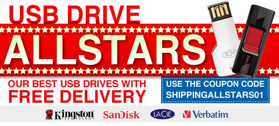 eStore coupons: USB DRIVE ALLSTARS