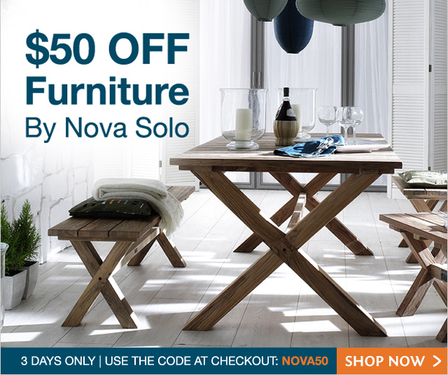 Zanui coupons: $50 off NOVA SOLO