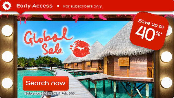Hotels.com coupons: Save up to 40% global hotel