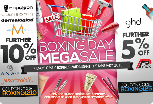 RY coupons: Boxing Day Mega Sale