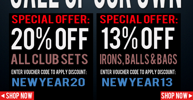 Lind Golf coupons: 20% off all club sets