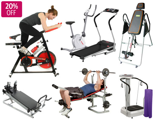 DealsDirect coupons: 20% Off All Fitness & Gym Equipment