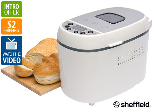 Visit Sheffield 800W Bread Maker