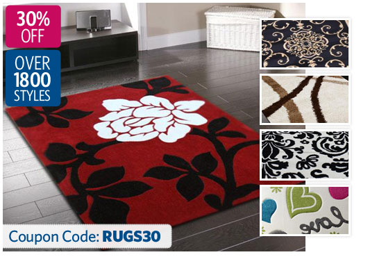 DealsDirect coupons: 30% OFF All Rugs