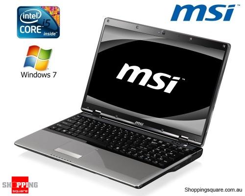 Visit MSI CR620 Core i5 430M 15.6