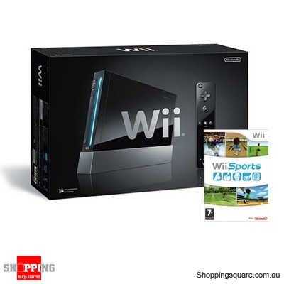 Visit NWI Nintendo Wii ConsoleBlack + Wii Sport